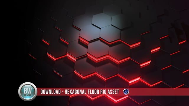 I created this free dynamic floor asset today. It can be dynamically resized and used with Mograph effectors. The FREE project file is available here: http://benwattsdesign.com