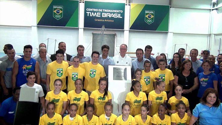 Novo Centro de treinamento de Ginástica Artística no coração dos Jogos ...