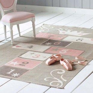 .Little Girls Room, Kids Room, Kidsroom, Princesses Child, Baby Girls, World, House, Girls Nurseries, Hopscotch Rugs