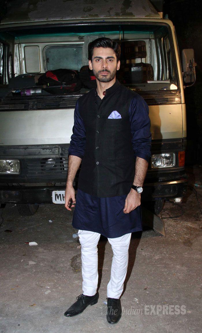 Priyanka, Rani, Ranveer, Sonam: Best Dressed for the week - here pictured - Fawad Khan.