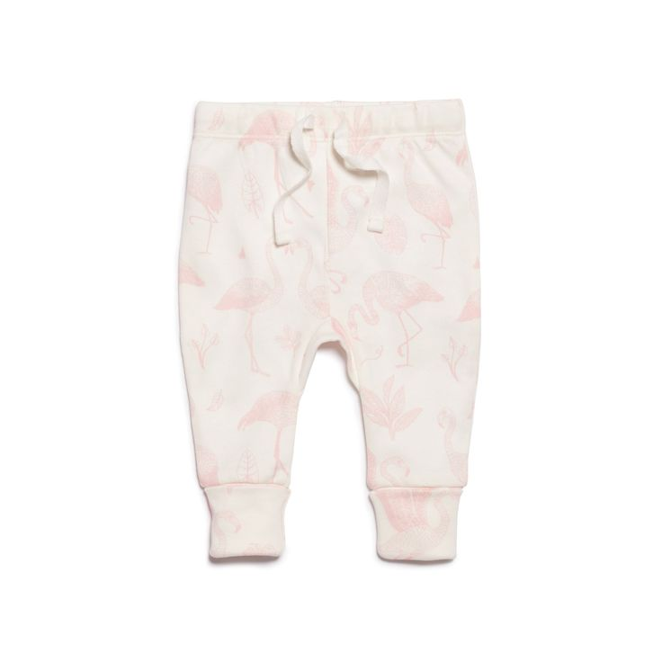 Our popular flamingo print leggings, made from 100% cotton. Comy and stylish for bubs.