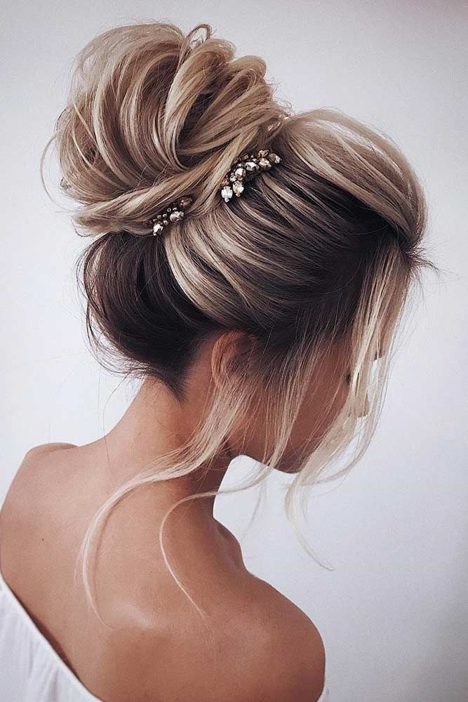 55 Fun And Easy Updos For Long Hair Lovehairstyles Com Long Hair Updo Long Hair Styles Medium Hair Styles