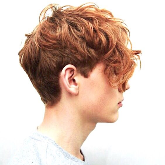 Curly Red Haired Boy Auburn Hair Red Hair Men Red