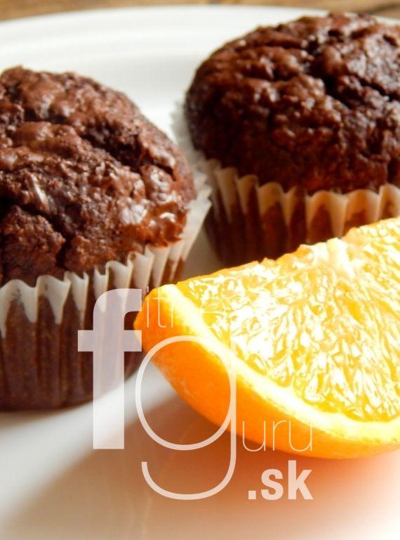 Čokoládovo-pomarančové muffiny