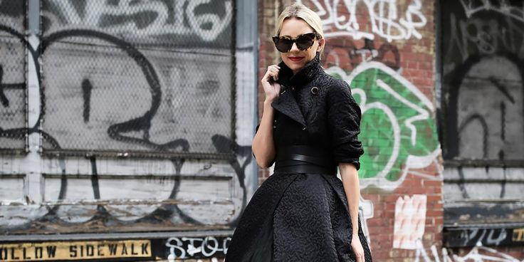 The Perfect Figure-Flattering All-Black Outfits for the Dead of Winter. Who ever said wearing black on black was boring?