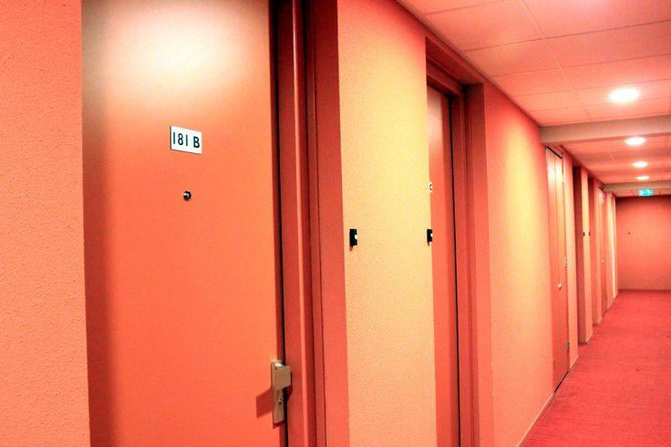 doors in the passage.