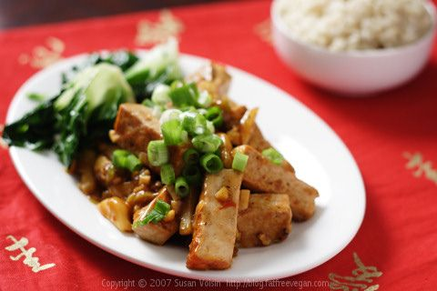 Sichuan Tofu with Garlic Sauce: Garlic Sauces Recipes, Tofu Recipes, Free Vegans, Sichuan Tofu, Sauce Recipes, Vegans Recipes, Delicious Tofu, Tofu Broccoli, Vegans Kitchens