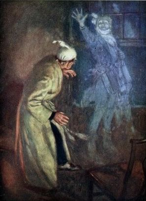 A Christmas Carol Charles Dickens (1843) Jacob Marley visits Ebenezer Scrooge to warn of the impending visit of three spirits.
