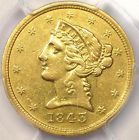 1843-D Liberty Gold Half Eagle $5 - PCGS XF Details - Rare Dahlonega Gold Coin - http://coins.goshoppins.com/us-coins/1843-d-liberty-gold-half-eagle-5-pcgs-xf-details-rare-dahlonega-gold-coin/ #Coins #GoldCoins #Silver #Coins #USCoins #TheHappyCoin