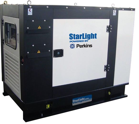 Starlight Perkins series diesel generator units apply diesel engines from Perkins Engines Co., Ltd. equiped with brushless self-excited AVR controlled generator, its power ranging from 24KW up to 1800KW. The series are well received in domestic and wilrd markets.