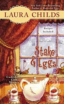 Stake & Eggs by Laura Childs ~ Kittling: Books