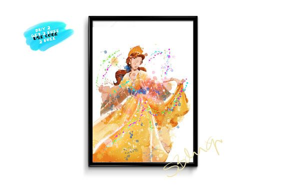 Anastasia Disney Print Watercolor Disney Art Printable