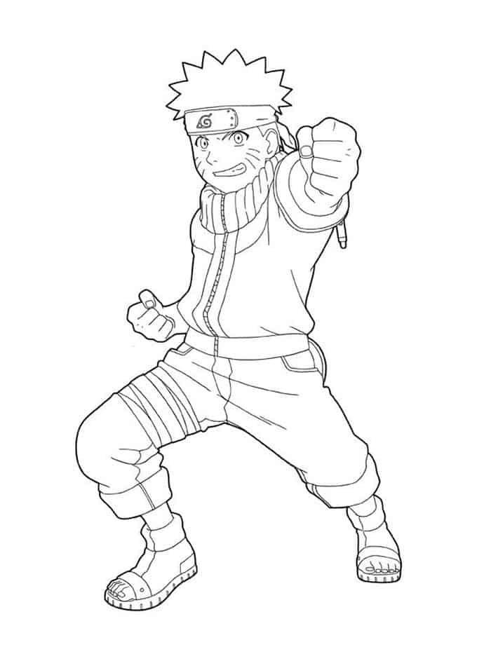 Naruto Printable Coloring Pages Naruto Sketch Naruto Drawings Chibi Coloring Pages