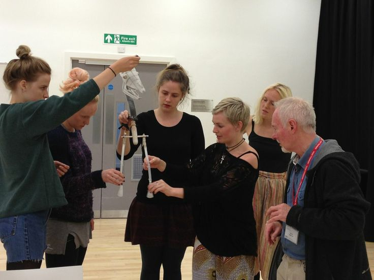 Puppeteer auditions at the Royal Welsh College of Music and Drama