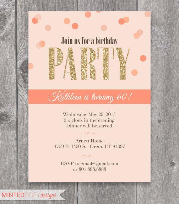 Birthday Invitations Via Facebook 1000 Images About Einladungen On Pinterest