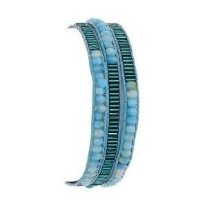 Bracelet indien pour filles - Bijou fantaisie bleu en perles: ShalinCraft: Amazon.fr: Bijoux