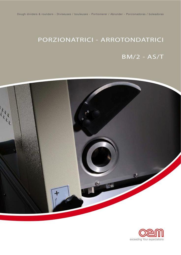 Porzionatrici - arrotondatrici / Dough dividers - Rounders / Diviseuses-bouleuses / Portionierer-abrunder / Porcionadoras-boleadoras