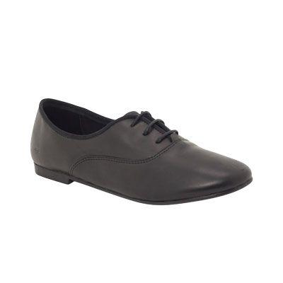 FANFARE Snr - Black - School Shoes - ROC School Shoes Australia
