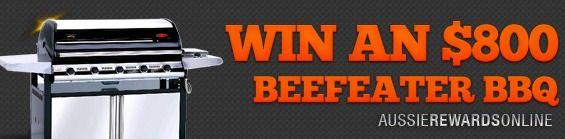 Win an $800 Beefeater BBQ