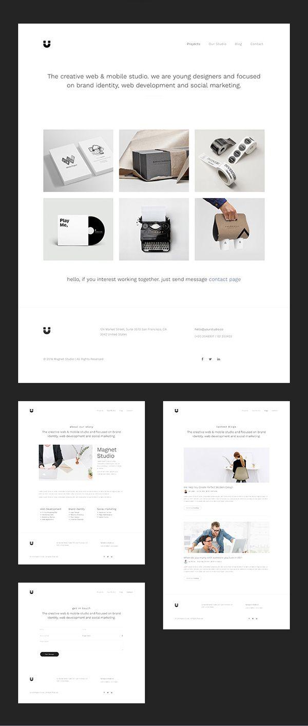 51 Free Bootstrap Themes Templates Web Design Inspiration Web Design Portfolio Design