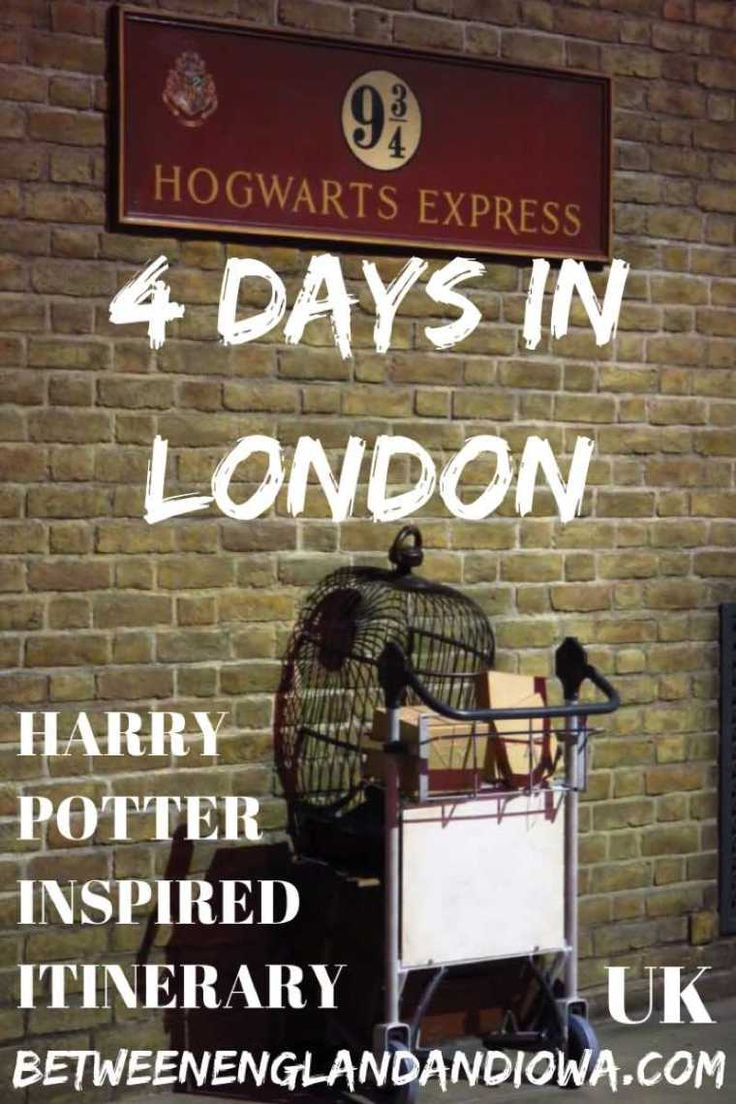 Harry Potter Inspired London Itinerary 4 Days Harry Potter London Travel Guide London Harry Potter Travel