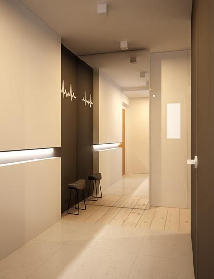 Entrance hall interior design Katowice - archi group