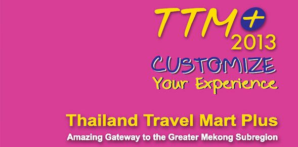 Thailand Travel Mart Plus 2013 in pictures