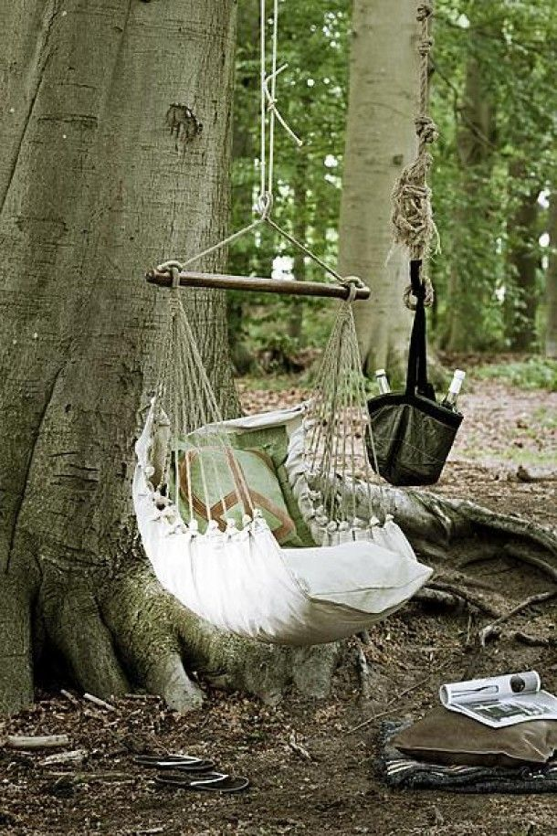 10 DIY Tree Swings