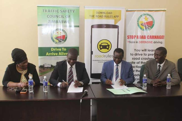 Learners' licence startup Road Rules signs content distribution deal with Traffic Safety Council of Zimbabwe - http://zimbabwe-consolidated-news.com/2016/12/01/learners-licence-startup-road-rules-signs-content-distribution-deal-with-traffic-safety-council-of-zimbabwe/