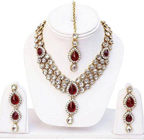 Latest Indian Bollywood Gold Plated Red Stone Mang Tikaa ... https://www.amazon.com/dp/B01NBWLJ20/ref=cm_sw_r_pi_dp_x_bgRNybTA5NC7D