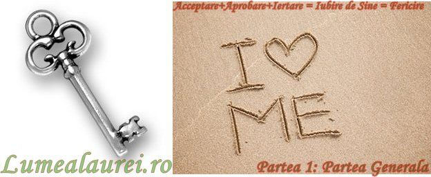 Acceptare+Aprobare+Iertare = Iubire de Sine = Fericire