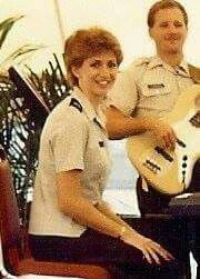 NICOLE  IN  ARMY  BAND