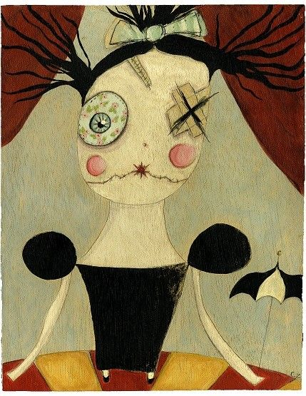 Junker Jane Art Dolls and Soft Sculptures: Paintings / Prints