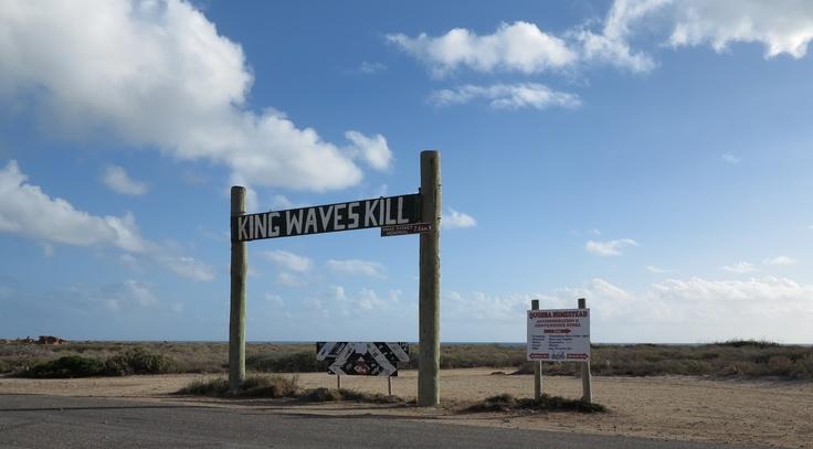 blowholes at quobba (carnarvon) ~ king waves kill