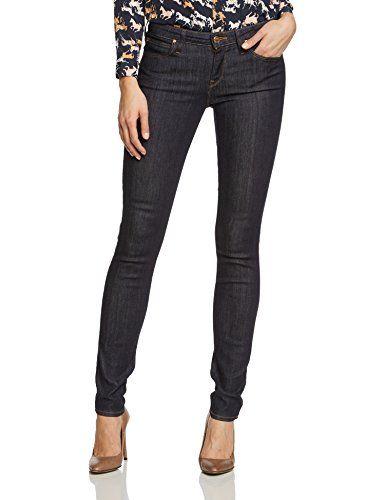 566acebbe3b Lee Damen Skinny Jeans SCARLETT Gr. W29 L31 Blau (ONE WASH 45 ...