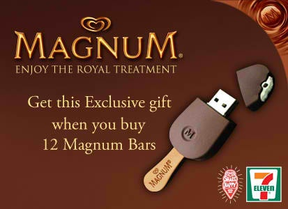 When You're Still Not Over That Whole Magnum Thing - #711 #Philippines #Magnum #USB Drive: Usb Driving, Magnum Things, 711 Philippines, Usb Drive, Magnum Usb, Geek Pinoy, Geek News, Philippines Magnum