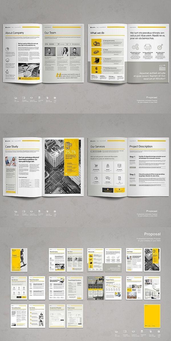 Business Proposal Vol 7 Business Brochure Design Booklet
