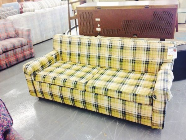 Exceptional Love This Plaid Couch At Jubilee Furniture  Only $75!