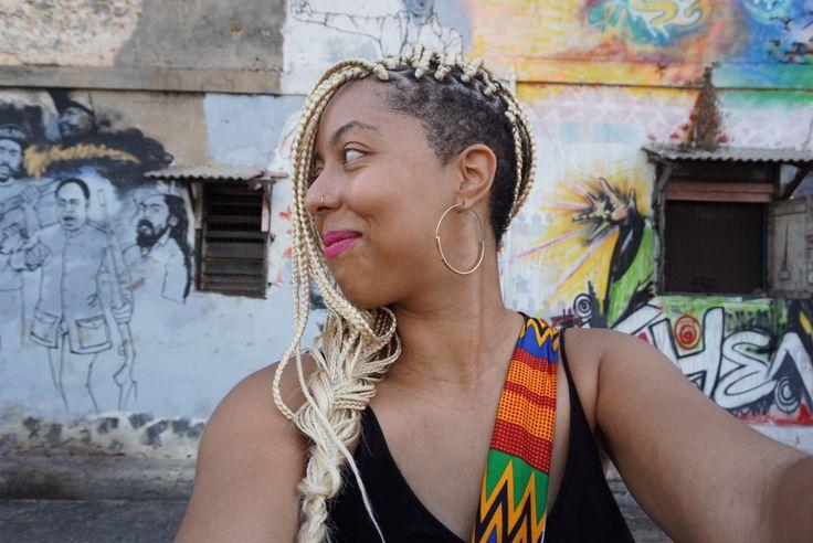 box braids shaved sides blonde braids lexiwiththecurls