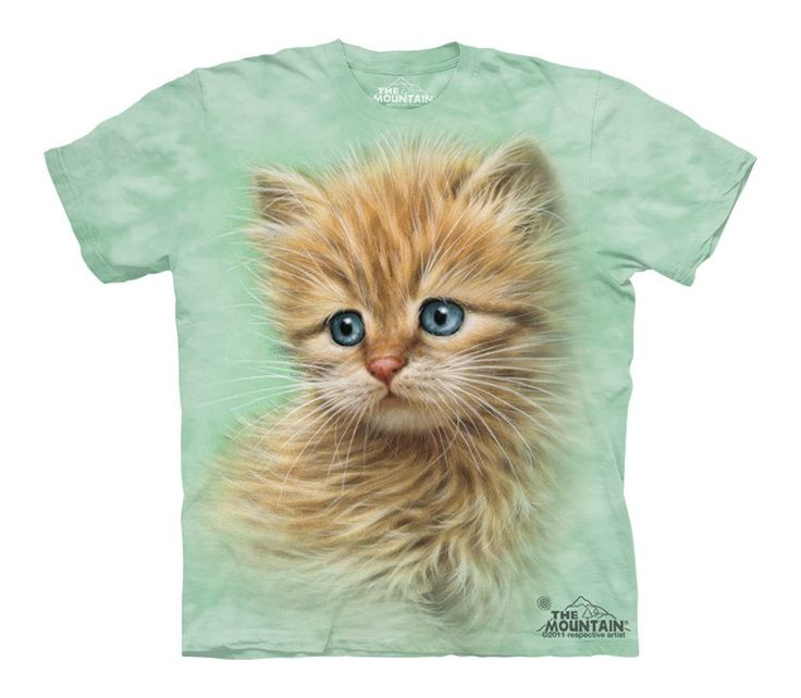 Kitten Portrait T-Shirt - 30% DISCOUNT ON ALL ITEMS - USE CODE: CYBER  #Cybermonday #cyber #discount