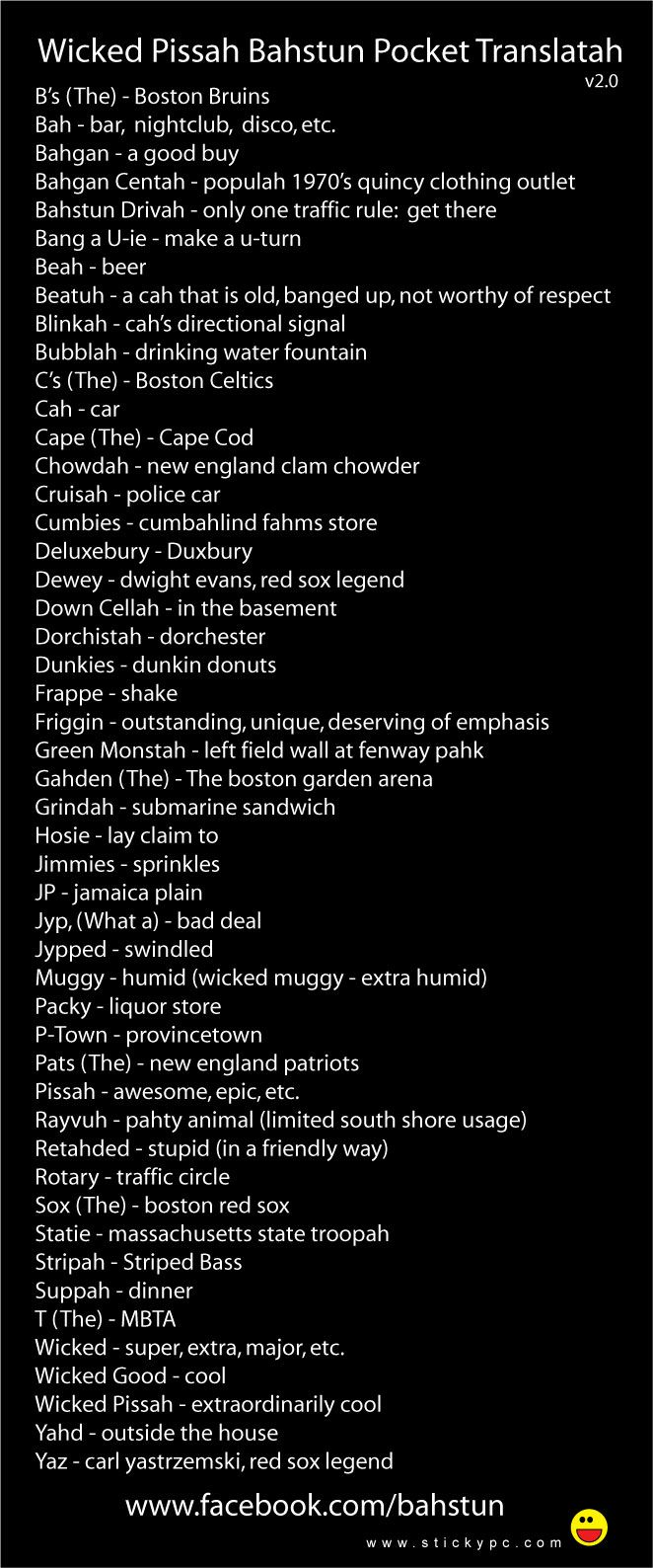 The handy Boston pocket translator, 2nd ed.