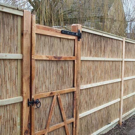 natural fencing norfolk reed x norfolk reed x x robust and hard wearing reed gates available available in all sizes effective windbreak pressure treated