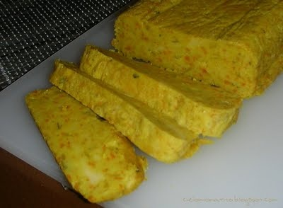 Terrina di farina di ceci al curry