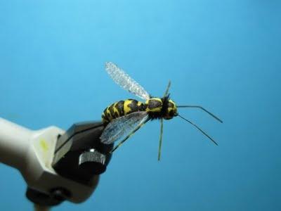 Fly Tying Nation: Foam Nation - foam fly pattern wasp.