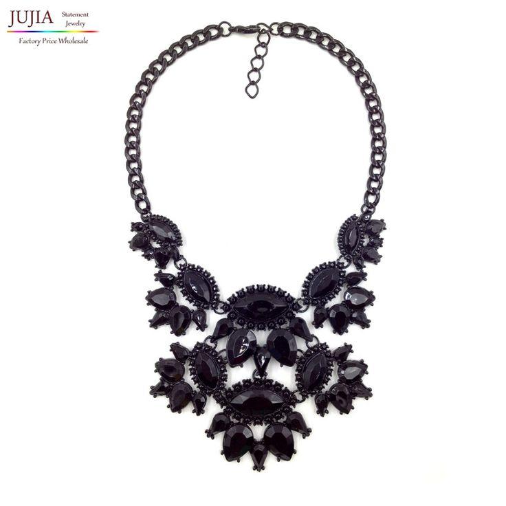 2016 бесплатная доставка мода моменты ожерелье костюм европа коренастый колье заявление ожерелья ювелирных изделий…
