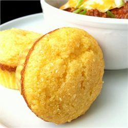Easy, Sweet Cornbread Muffins... My husband raved about these! My new go-to cornbread recipe!