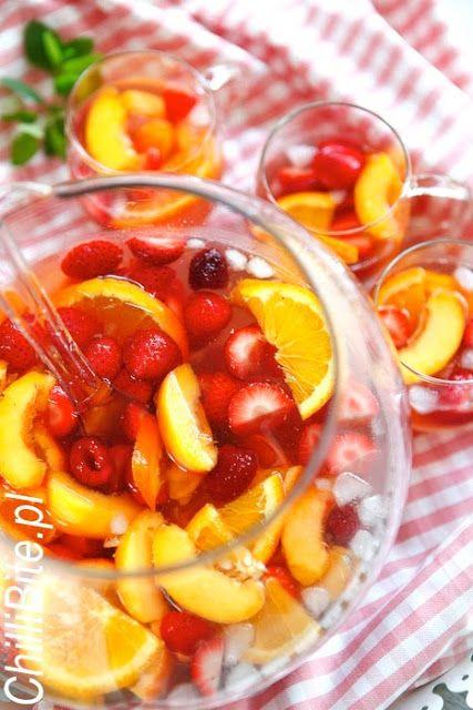 ChilliBite.pl - motywuje do gotowania!: Sangria w kolorze róż