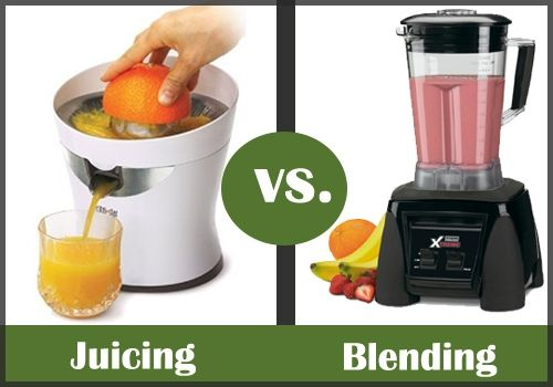 Juicing vs Blending --->  Should you juice or blend? There always seems to be some confusion about which is better. Let's find out!