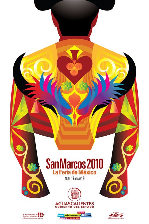 Commemorative poster: Feria de San Marcos 2010