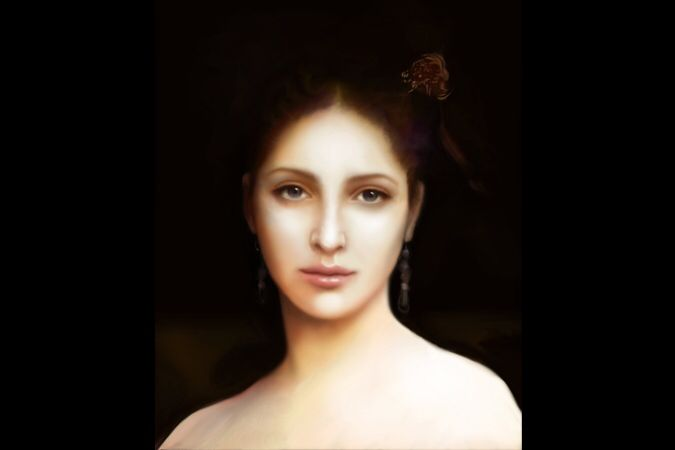 Aphrodite by William-Adolphe Bouguereau